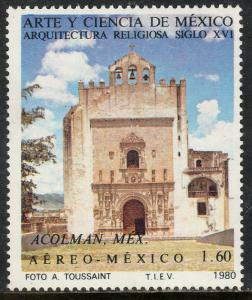 MEXICO C627,  Art and Science (Series 8) MINT, NH. F-VF.
