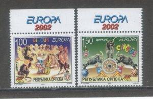 Bosnia & Herzegovina (Serb Admin) 172-3  MNH