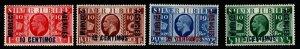 MOROCCO AGENCIES SG149/52 1935 SILVER JUBILEE MTD MINT