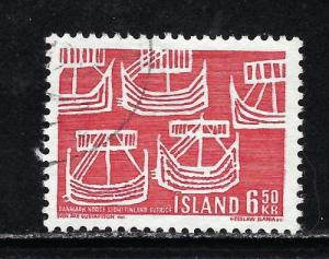 Iceland 404 Used 1969 issue
