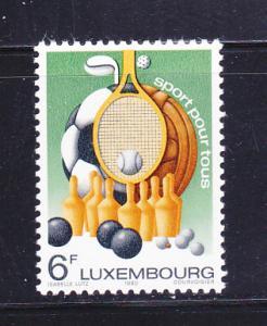 Luxembourg 643 Set MNH Sports (B)