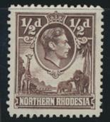 Northern Rhodesia  SG 26 SC# 26 MNH - see details