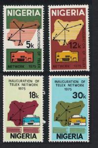 Nigeria Inauguration of Telex Network 4v SG#331-334