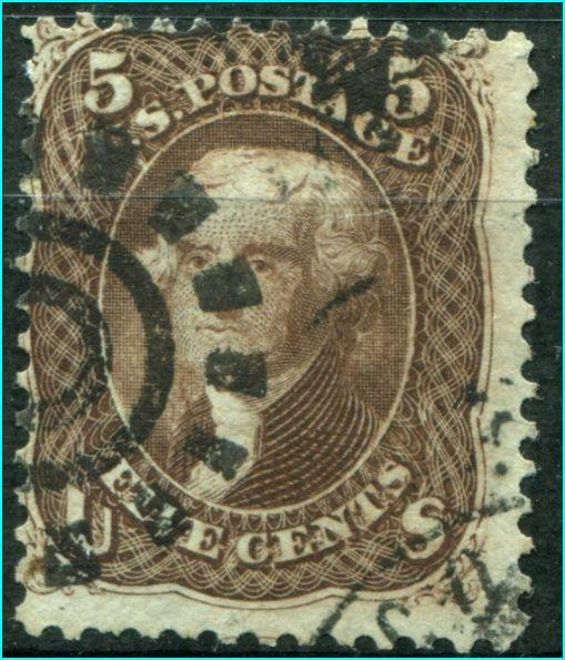 USA #76  Used       ** Free shipping **