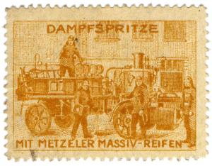 (I.B) Germany Cinderella : Metzeler Tyres (Fire Engine)