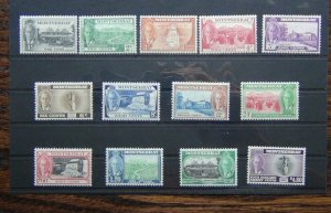 Montserrat 1951 set to $4.80 MNH SG123 - SG135