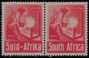 South Africa #87* pair  CV $11.75