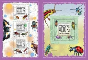 Guinea 2013 insects fauna klb+s/s MNH