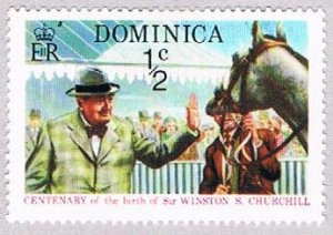 Dominica Churchill half - pickastamp (AP103913)