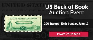 US Back of Book Auction #29