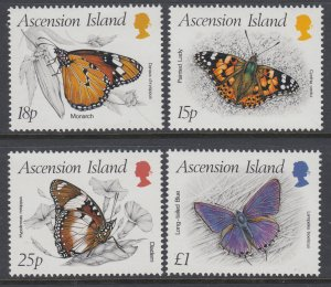 Ascension 426-429 Butterflies MNH VF