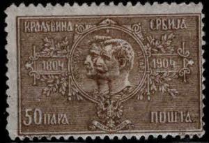 Serbia  Scott 83 MH*