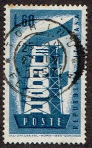 Italy # 716  Used