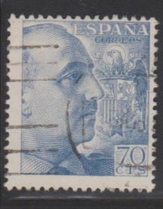 Spain Sc#701a Used