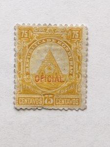 Honduras – 1890 – Single Official Stamp – SC# O10 – Used
