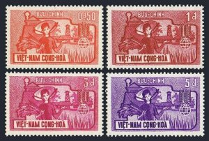 Viet Nam South 207-210 blocks/4,MLH/MNH.Mi 274-277. FAO Freedom from Hunger,1963