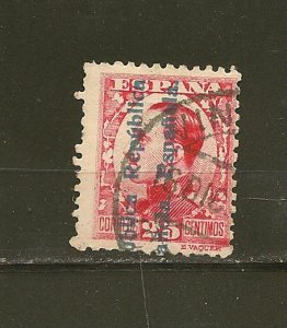 Spain 483 Overprint Used