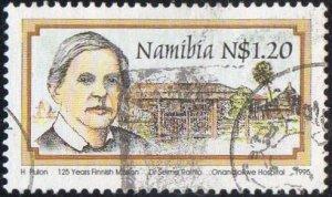 Namibia 1995 $1.20 Dr Selma Rainio & Onandjokwe Hospital used