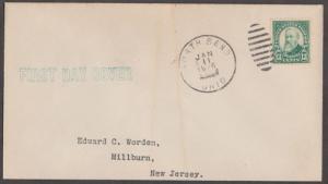 #622 US 13¢ HARRISON FDC BL2559