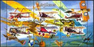 Malawi 2012 Aviation Airplanes MNH Cinderella !