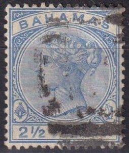 Bahamas #28  F-VF  Used CV $3.00  (Z2465)