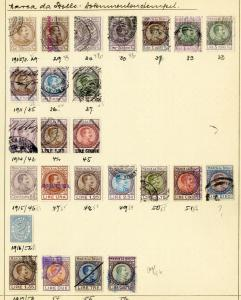 Italy Stamps Early Most Used 1800's Revenues 120x + Rare