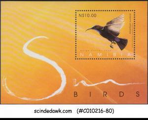 NAMIBIA - 2005 - SUN BIRDS - MINIATURE SHEET - MINT NH