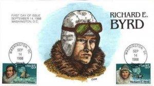 COLLINS HAND PAINTED 2386 Richard Byrd Polar Flight Nathaniel Palmer