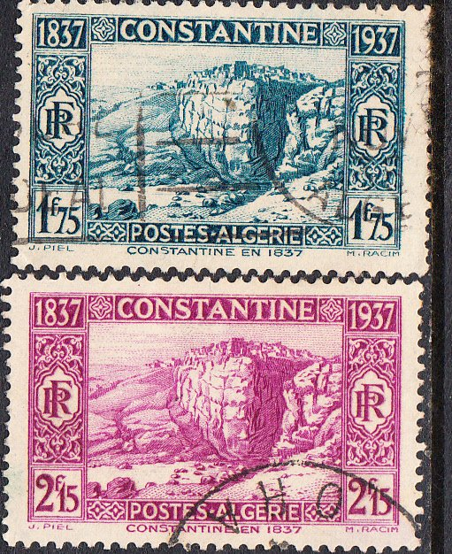 Algeria #113-116 Used Set