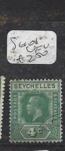SEYCHELLES  (PP2905B)  KGV  4C     SG 101   VFU