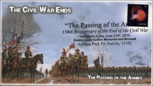 2015, The Passing of the Armies, Civil War, Allison Park PA, Pictorial Postmark