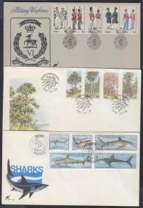 South Africa Ciskei stamp 3 diff. sets 3 FDC Cover 1983 Mi 34-42 +47-51 WS142798