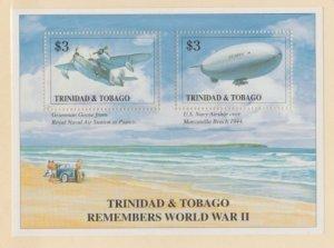 Trinidad & Tobago Scott #592 Stamps - Mint NH Souvenir Sheet