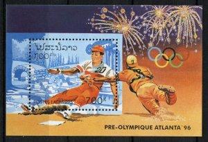 Laos 1995, Olympics Atlanta 96, M/S MNH