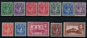 St. Lucia #110-21* CV $14.20