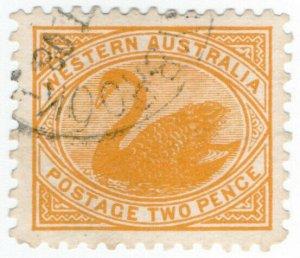 (I.B) Australia Postal : Western Australia 2d (SG 152)