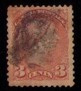 CANADA Sc 37b Copper Shade VarietyUsed F-VF