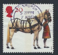 Great Britain SG 1989  Used    - Queen's Horses
