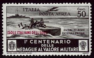 Italy Aegean Islands SC C33 Unused NG F-VF SCV$65.00...Grab a Bargain!