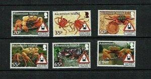 Ascension Island: 2018, Land Crabs,  MNH set