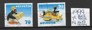 Switzerland used 1999  several issues