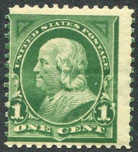 279 1c Franklin, Mint Never Hinged OG