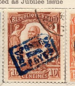 Haiti 1904 Regular Optd Issue Fine Used 10c. 106584