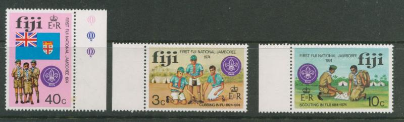 Fiji SG 499 - 501 MUH set Margin Copies
