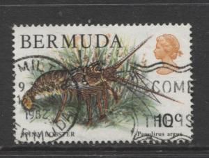Bermuda - Scott 368 - Birds, Reptiles & Fish -1978 - FU- Single 10c Stamp