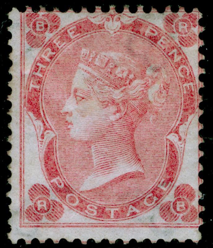 SG77, 3d pale carmine-rose, M MINT. Cat £2700. RB