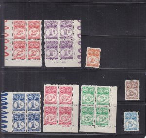 Australia: Queensland: Adhesive Tax Stamps, MNH (S18186)