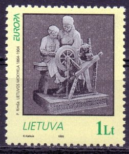 Lithuania. 1995. 580. Women for Europe distaff. MNH.