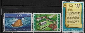 GREECE, 932-934, MNH, OLYMPIC GAMES