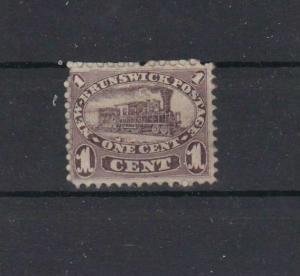 NEW BRUNSWICK 1860 LOCOMOTIVE MOUNTED MINT   REF 798